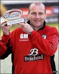 St Mirren manager Gus MacPherson