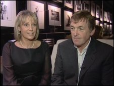 Marina and Kenny Dalglish