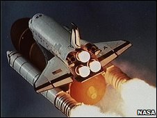 Space shuttle Columbia (01/10/1992)
