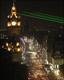 Edinburgh's Hogmanay celebrations
