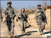 جنود أمريكيون ضمن قوات إيساف