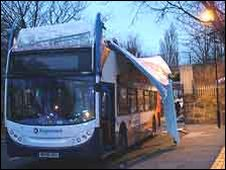 Wallsend bus crash