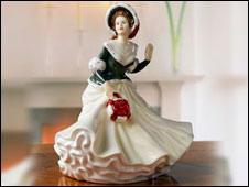 A Royal Doulton figurine produced for the Waterford Wedgwood group