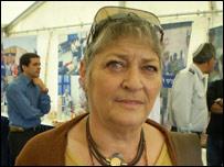 Adriana Katz, que encabeza el Centro de Ayuda de Emergencia en Sderot.