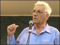Jaim Oron , del partido Meretz.