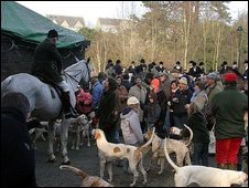 Duke of Beaufort's Hunt on 29 December