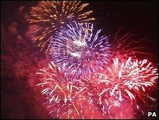Fireworks (file image)