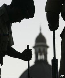 Soldiers in Mumbai