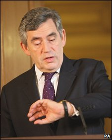 PM Gordon Brown