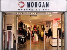 Morgan shop front