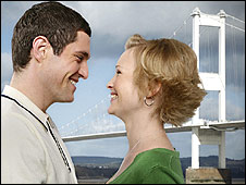 Gavin and Stacey at the Second Severn Crossing