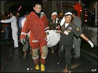 Incendio en Tailandia