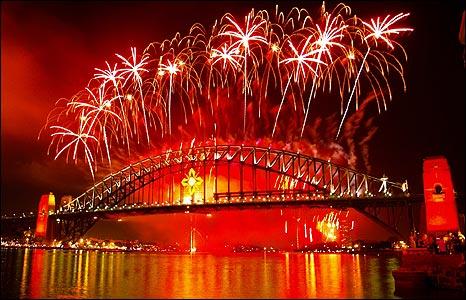 Fireworks over Sydney Harbour [Pic: Raj Singh]