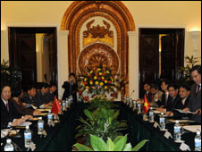 Chinese and Vietnamese ministers ink border deal 31 Dec 08