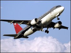 Northwest Airlines plane
