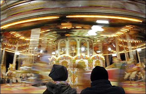 Carousel in Cardiff [Pic: Zaidi Muhamad]