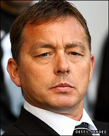 New Nottingham Forest manager Billy Davies