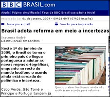 BBC Brasil reporting the story