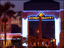 Exterior of a Bingo Bahiti venue