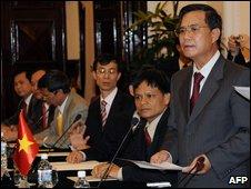 Vietnamese Deputy Foreign Minister Vu Dung