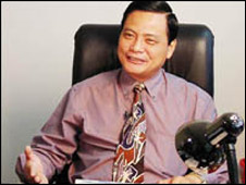 Nguyen Cong Khe, former editor of Thanh Nien newspaper