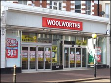 Woolworths in Devonshire Road, Bexhill