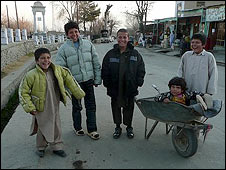 Children in Paghman, Afghanistan