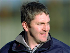 Derry manager Damien Cassidy