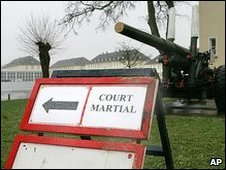 Courts martial site