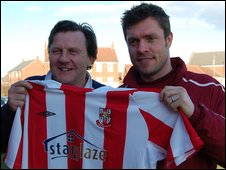 Peter Jackson and Geoff Horsfield