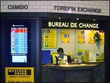 Bbc news programmes moneybox have your say currencies for Bureau de change morlaix