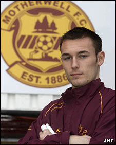 Artur Krysiak at Fir Park