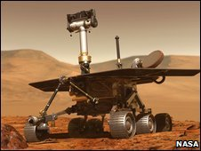 Artist's impression of a Mars rover (Nasa)
