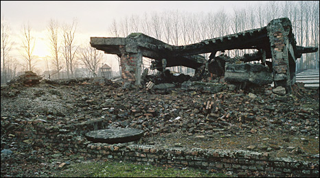 Ruins at Birkenau