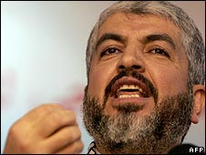 Exiled Hamas leader Khaled Meshaal (file photo)