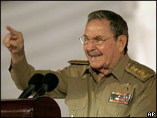 Cuban President Raul Castro. Photo: 1 January 2009