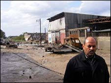 Metal workshop owner Ahmed Sanur [photo courtesy of B'Tselem