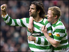 Georgios Samaras and Barry Robson