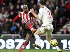 Djibril Cisse's goal proved crucial