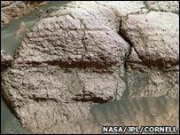 Rocas marcianas (NASA)