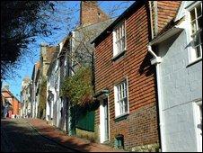 Keere Street, Lewes (Pic: Freefoto.com)