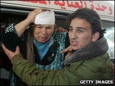 Civilain casualty in Gaza