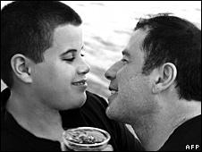 Jett and John Travolta
