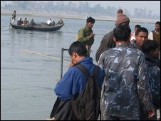 Rescue operation in Sunsari