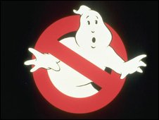 Logo from the film Ghostbusters 