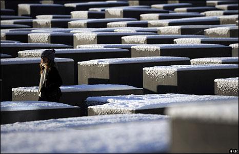 Berlin Holocaust memorial, 5 January 2008