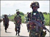 قوات الاتحاد الإفريقي