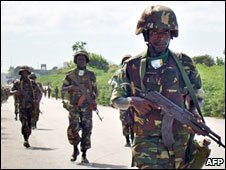 African Union troops in Somalia (October 2008)
