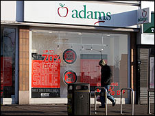 Branch of Adams in Kings Heath, Birmingham. Picture: Kirsten Adkins