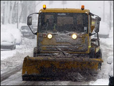 A council gritter (library picture)